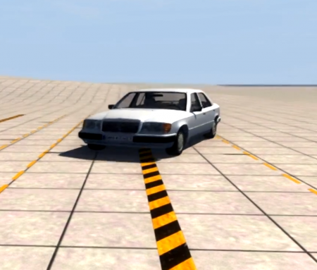 MERCEDES BENZ W124 – BEAMNG DRIVE