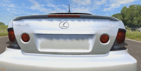 LEXUS IS300 – BEAMNG DRIVE