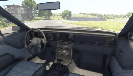 Скачать мод машина FORD LTD 1978 для BeamNG Drive 0.3.7.8