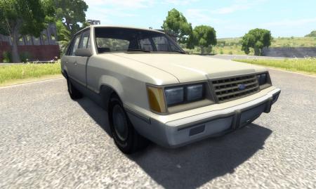 Скачать мод Ford LTD 1978 для BeamNG Drive