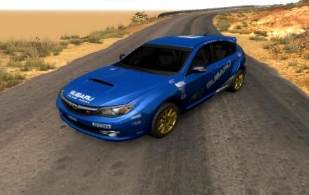 Скачать мод Subaru Impreza WRX STI 2008 для BeamNG Drive