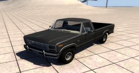 Скачать мод Ford Ranger F150 1984 V8 для BeamNG Drive