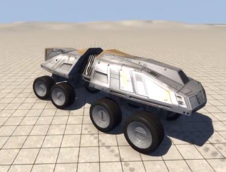 Скачать мод AT-TE Remastered для BeamNG Drive