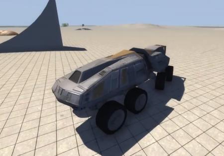 Скачать мод машина AT-TE REMASTERED для BeamNG Drive 0.3.8.0