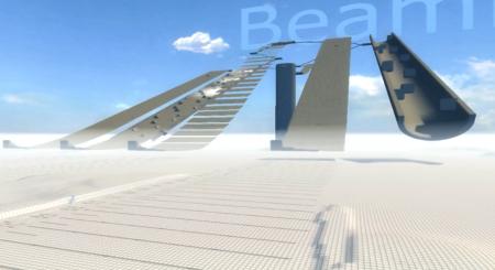 Скачать мод карта The Descent для BeamNG Drive