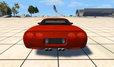 Скачать мод Chevrolet Corvette C5 для BeamNG Drive