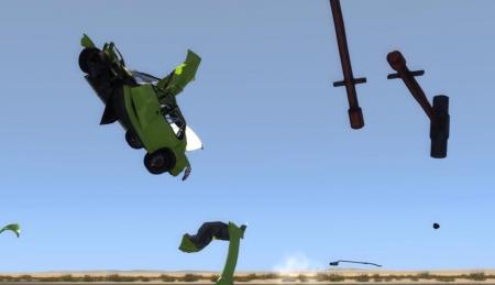 Скачать мод Giant Sledge Hammer для BeamNG Drive