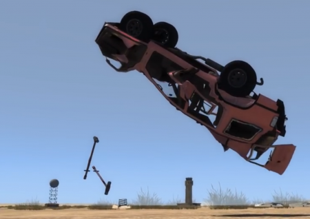 Giant Sledge Hammer - BeamNG DRIVE