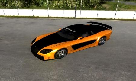 Скачать мод Mazda RX-7 для BeamNG Drive