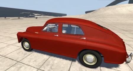 Скачать мод ГАЗ-M20 Победа для BeamNG Drive