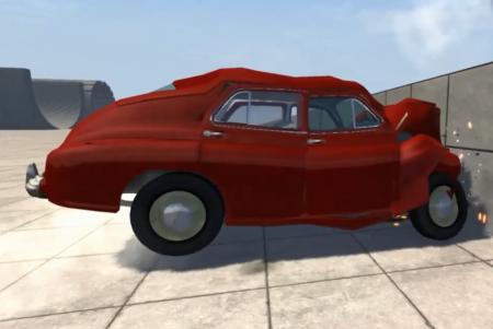 Скачать мод машина ГАЗ-M20 Победа для BeamNG Drive