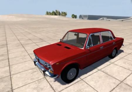 Скачать мод машина ЛАДА ВАЗ-2103 для BeamNG Drive 0.4.0.6