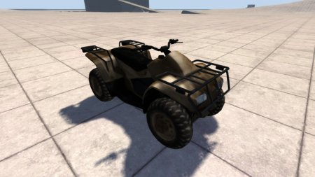 Скачать мод квадроцикл Generic Quad для BeamNG Drive