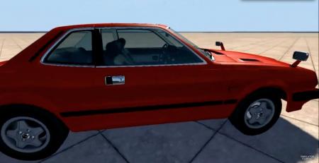 Скачать мод машина HONDA PRELUDE V2.0 для BeamNG Drive