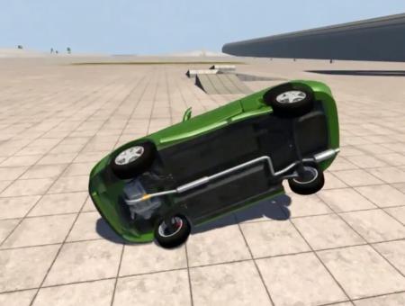 Скачать мод Honda CR-X Del Sol Sir V1.1 для BeamNG Drive