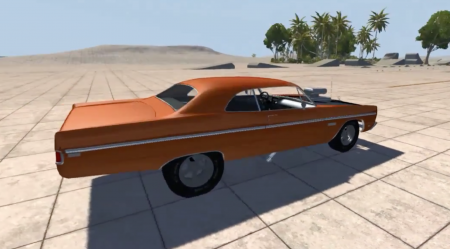 1969 PLYMOUTH FURY III – BEAMNG DRIVE
