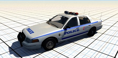 Ford Crown Victoria 1999 v2.0 для BeamNG DRIVE