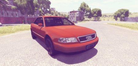 Скачать мод Audi A8 для BeamNG Drive