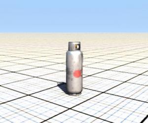 Взрывоопасный баллон с пропаном «Explosive Propane Tank» для BeamNG Drive