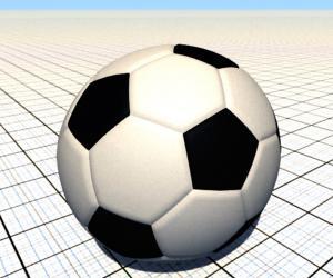 Скачать мод Огромный футбольный мяч для BeamNG Drive