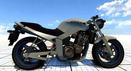 Скачать мод мотоцикл «Ducati FRC 900» с коляской для BeamNG Drive
