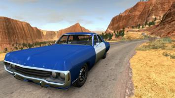 Скачать мод Dodge Polara 1971 для BeamNG Drive 0.5.3.2+