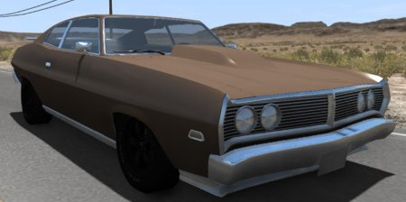 Скачать мод Gavril Bandit 1972 для BeamNG Drive