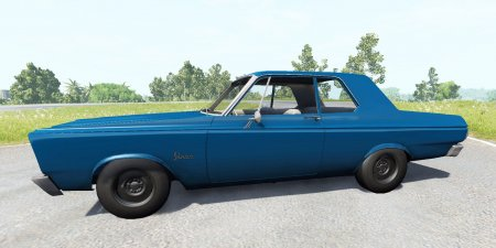 Скачать мод Plymouth Belvedere 1965 для BeamNG Drive 0.5.3.2+