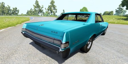 Скачать мод Pontiac Tempest LeMans GTO 1965 для BeamNG Drive 0.5.3.2+