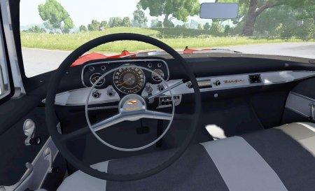 Скачать мод автомобиль Chevrolet Bel Air Coupe 1957 для BeamNG Drive 0.5.2