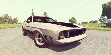 Скачать мод Ford Mustang Mach 1 для BeamNG Drive 0.5.2+