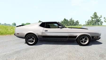 Скачать мод автомобиль Ford Mustang Mach 1 для BeamNG Drive 0.5.2
