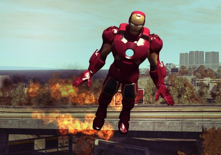 Скачать мод Iron Man для BeamNG Drive 0.5.1+