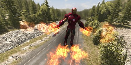 Скачать мод IRON MAN для BeamNG Drive 0.5.1