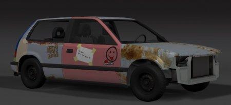 Скачать мод пак автомобилей Old and Rusty Car для BeamNG Drive 0.5.1