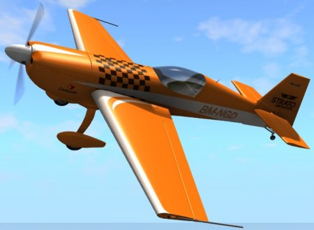 Самолет Strato HMX 920 - Aerobatic Aircraft 2.0 для BeamNG Drive 0.5.1