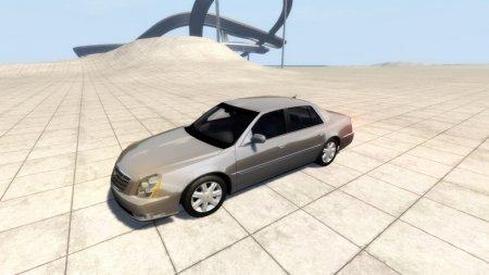 Автомобиль Cadillac DTS для BeamNG Drive 0.4.1.2