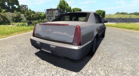Скачать мод Cadillac DTS для BeamNG Drive 0.4.1.2+