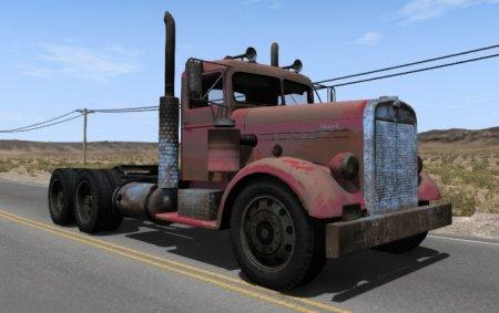 Скачать мод Грузовик Hank B Alpha для BeamNG Drive 0.5.1