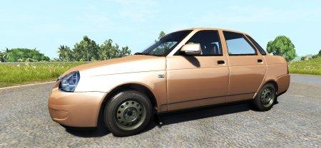 Скачать мод автомобиль LADA PRIORA 2170 для BeamNG Drive 0.4.3.2