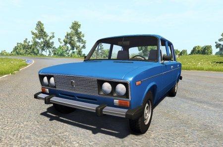 Скачать мод автомобиль ВАЗ 2106 V3.0 для BeamNG Drive 0.4.3.0