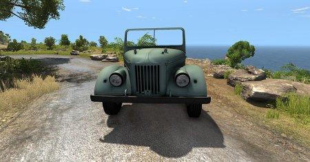 Скачать мод ретро внедорожник ГАЗ 69 (УАЗ 69) для BeamNG Drive 0.4.2.2