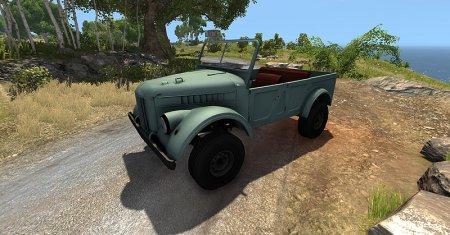 Скачать мод ГАЗ 69 (УАЗ 69) для BeamNG Drive 0.4.2.2+