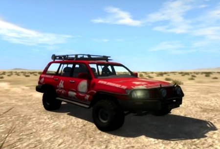 Скачать мод Toyota Land Cruiser 100 Renewed для BeamNG Drive 0.5.5+