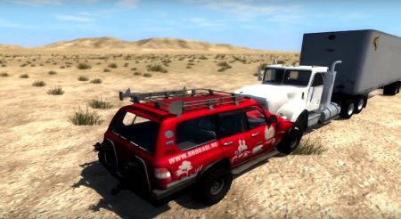 Внедорожник Toyota Land Cruiser 100 Renewed для BeamNG Drive 0.5.5