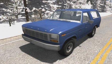 Скачать мод Ford Bronco 1980 для BeamNG Drive 0.4.2.2+