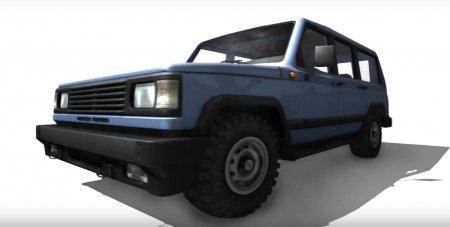 Скачать мод УАЗ 3170 для BeamNG Drive
