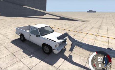 Скачать мод Guardrail (дорожный отбойник) для BeamNG Drive 0.4.1.2+