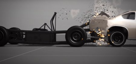 Каркасная машина Nardelli Crash Test Cart для BeamNG Drive 0.4.1.2