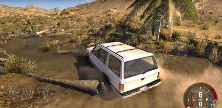 Скачать мод карта Baja Hills для BeamNG Drive 0.4.1.2+